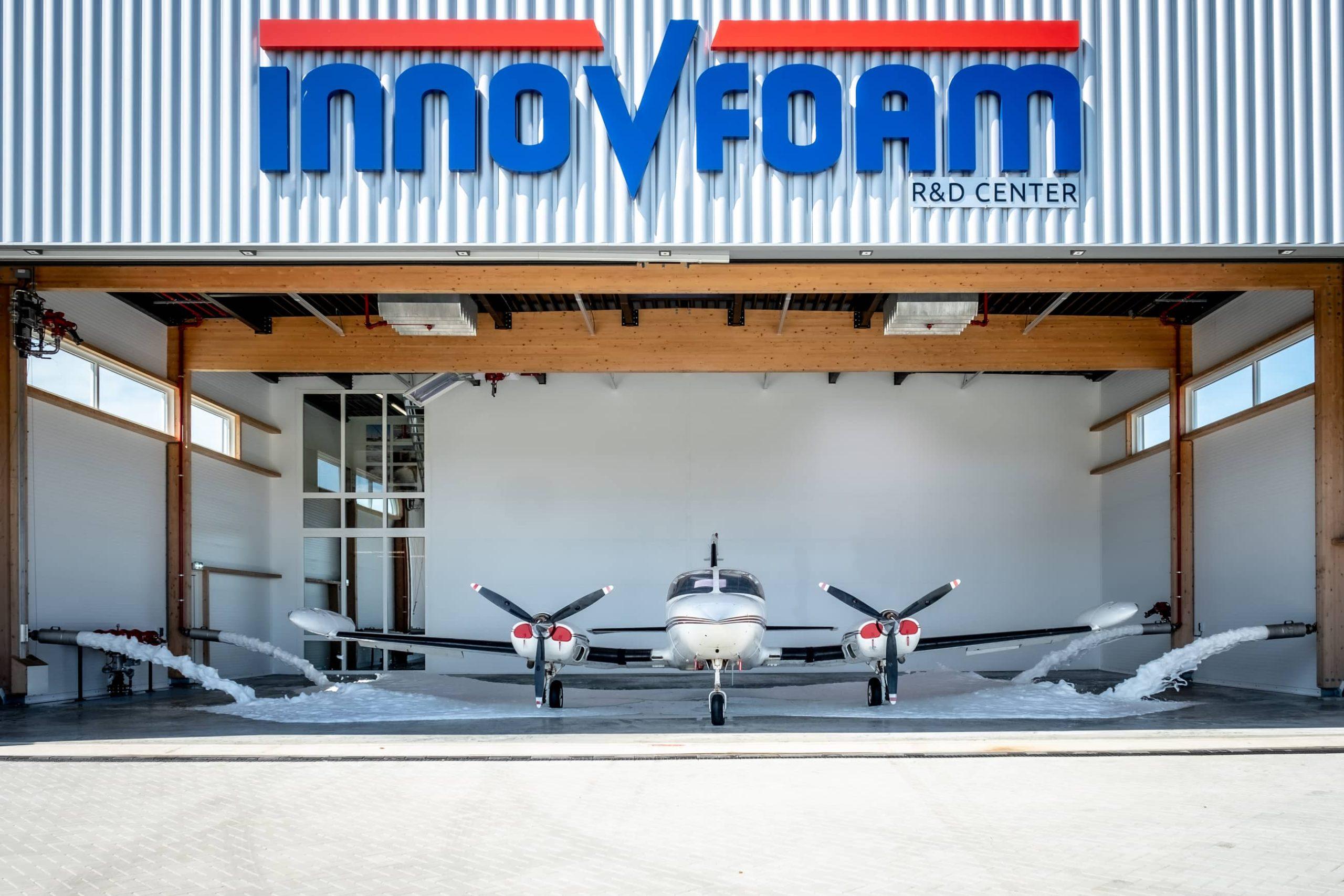 Blusschuimsystemen voor luchtvaart