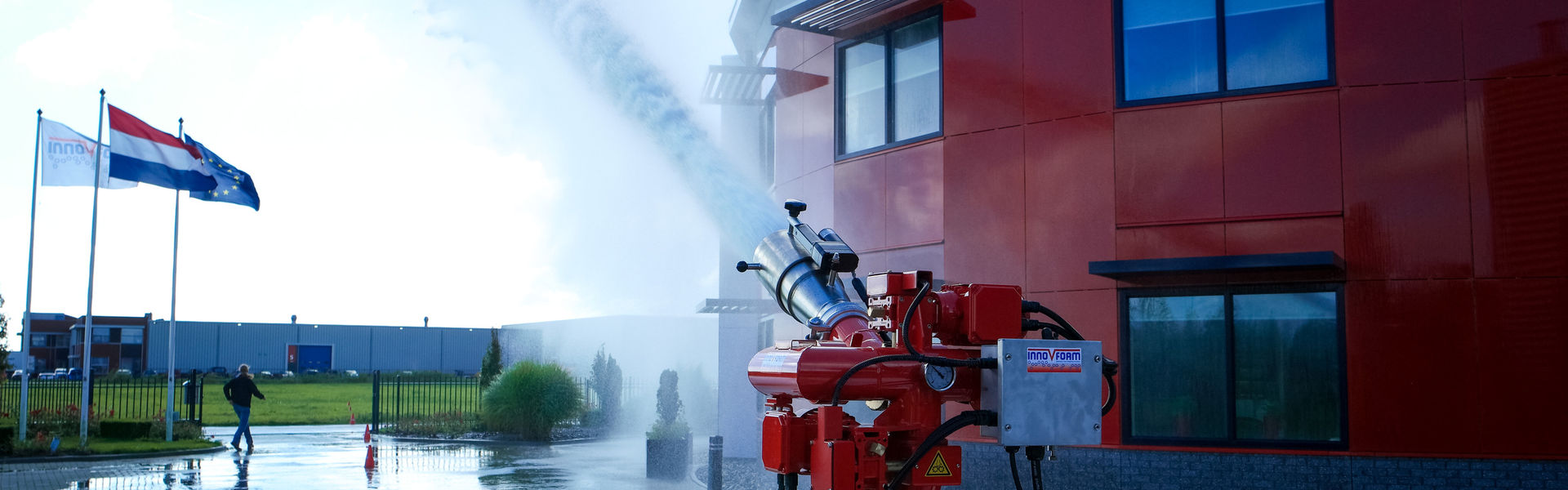 Innovfoam B.V. Schuimblussystemen en brandpreventie