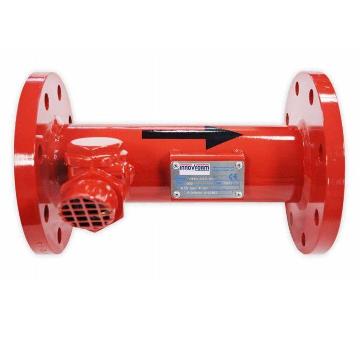 High backpressure schuim generator