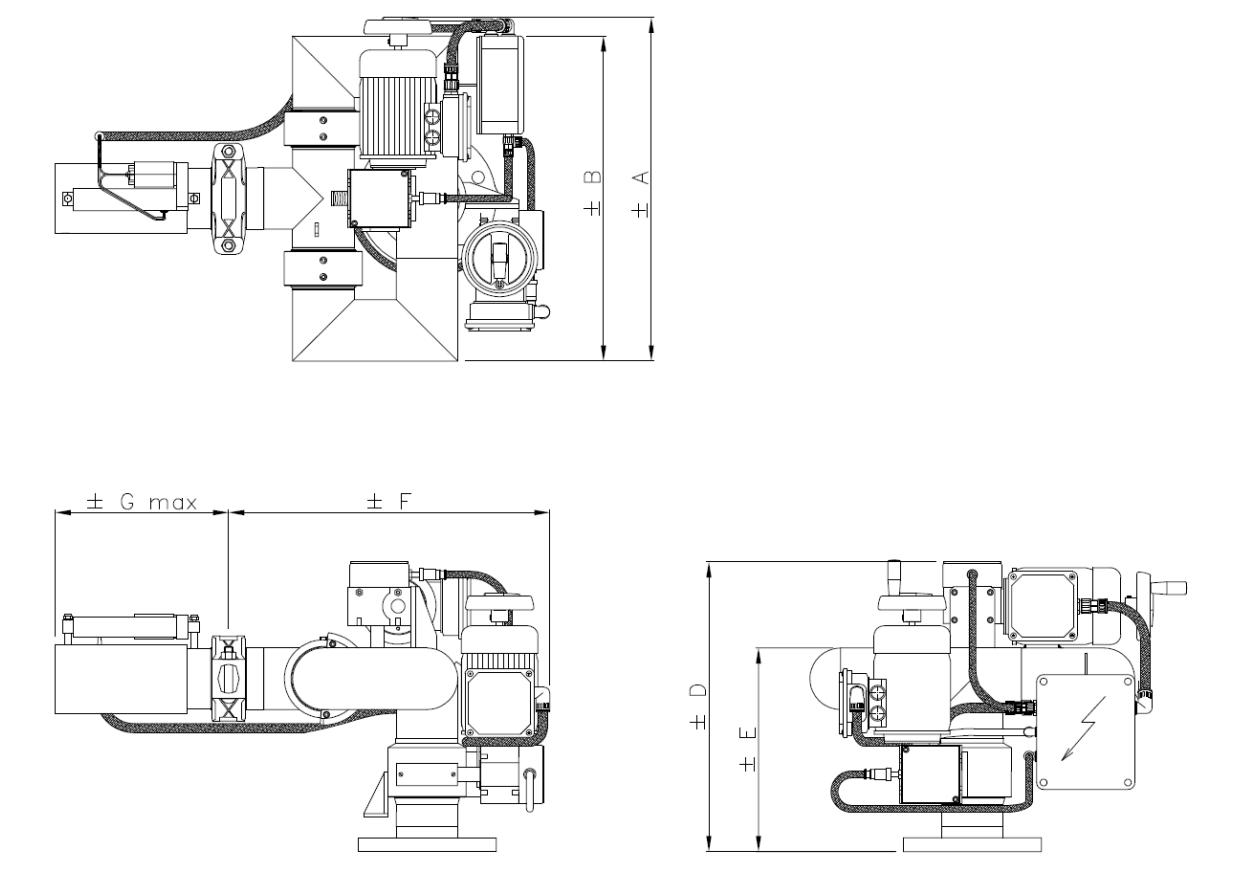 Technische specificatie Electrische Blusmonitor