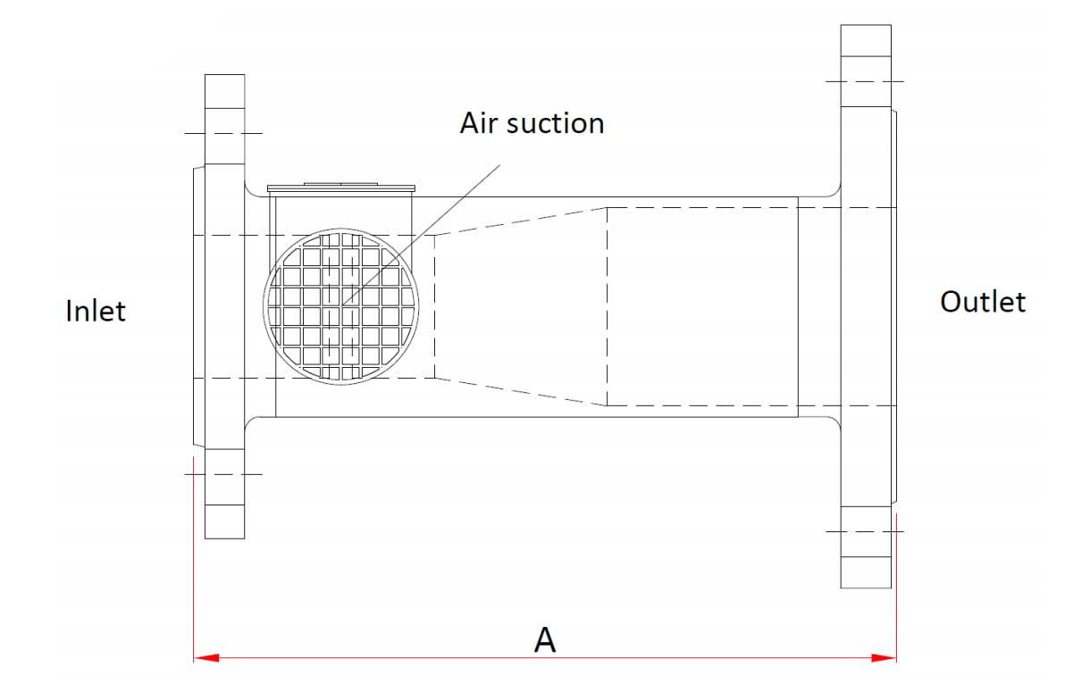 Technische specificatie High Backpressure foam Generator