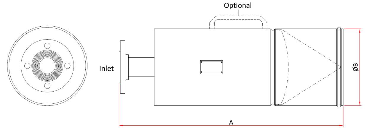 Technische specificatie Middelschuimgenerator