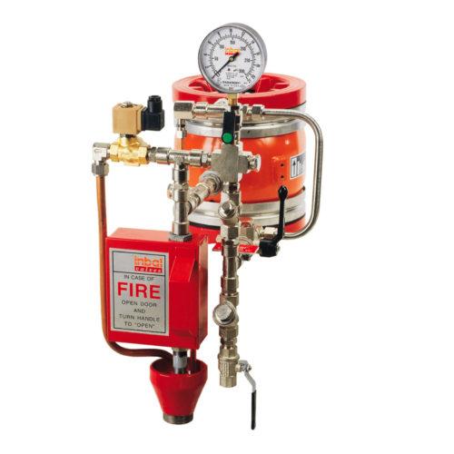 Deluge valve