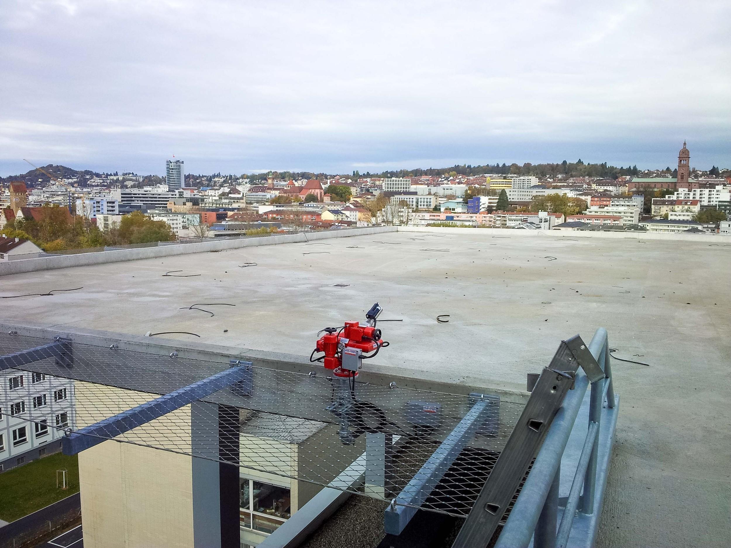 Geslaagde oplevering helidecksysteem in Pforzheim