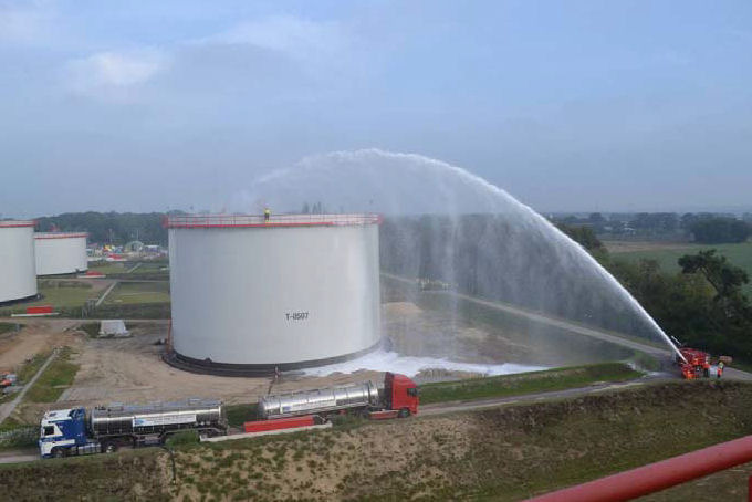 Oplevering tankterminal RRP Venlo geslaagd!
