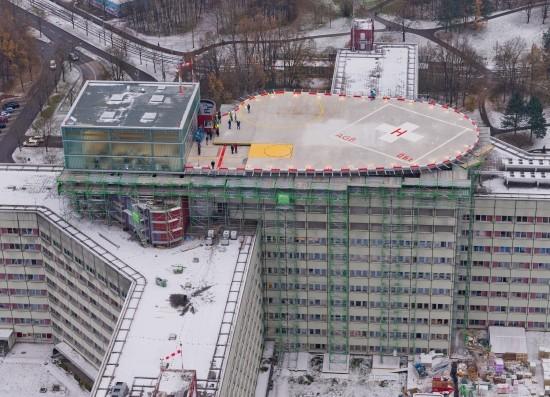 Helideckbeveiliging ziekenhuis Augsburg (DU)