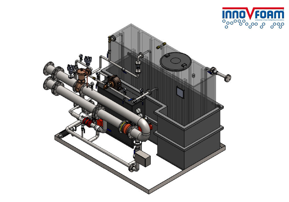 Compact bijmengsysteem voor LNG plant