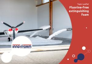 Fluorine-free extinguishing foam