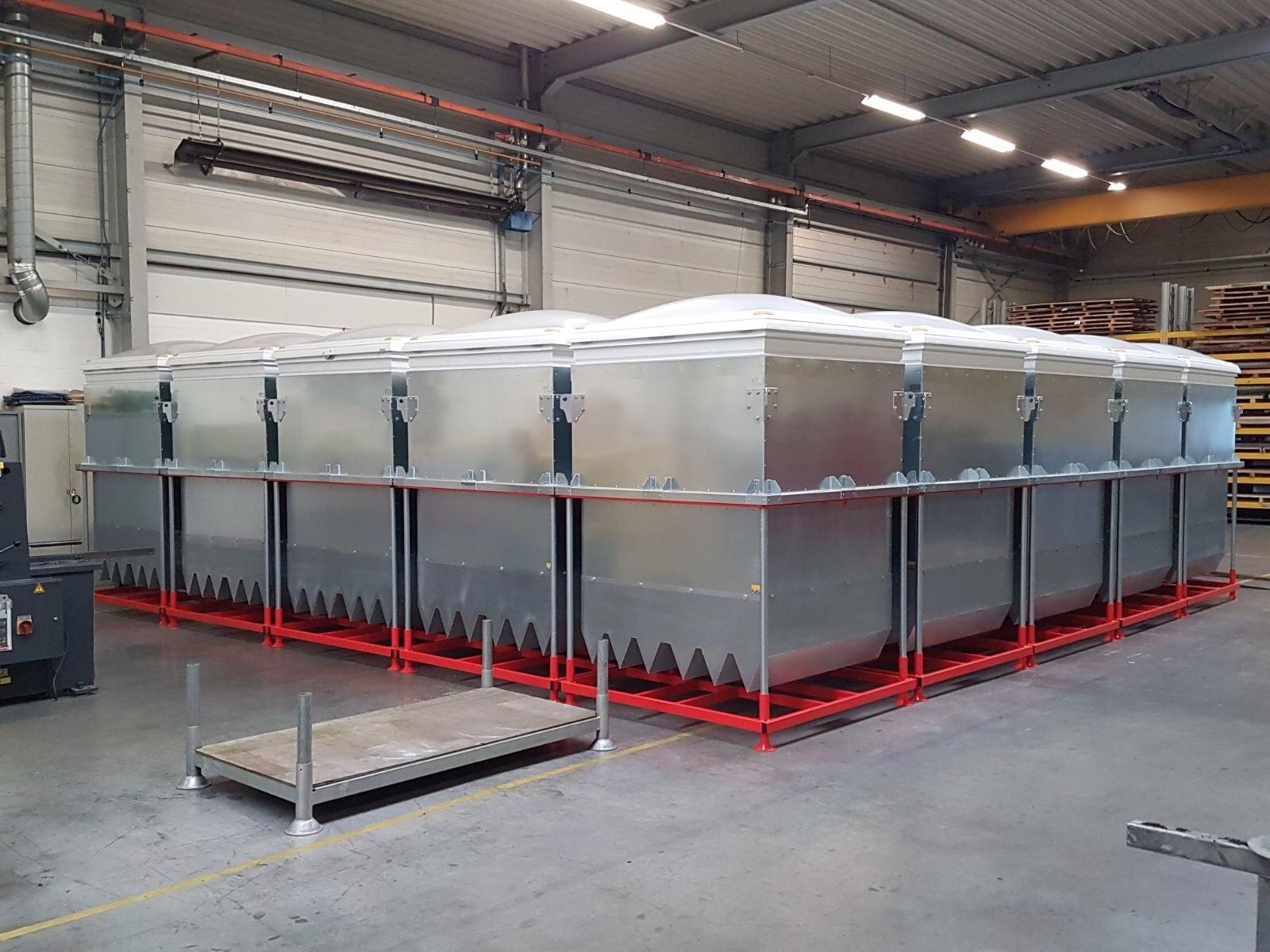Oplevering 34 Hi-Ex 600 generatoren voor opslag Partspoint