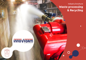 Extinguishing foam systems for Waste processing & Recycling | InnoVfoam