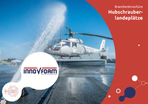 Löschschaumsysteme für Hubschrauberlandeplätze | Innovfoam