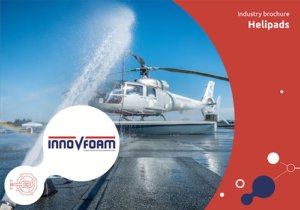 Extinguishing foam systems for helipads | InnoVfoam