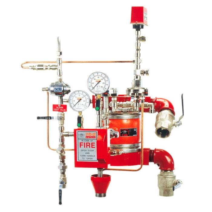pre-action valve