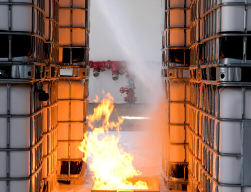 InnoVfoam News: Extinguishing with the help of a thermal imaging camera